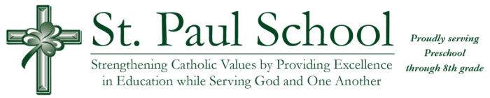 St. Paul Catholic School, Weirton Logo